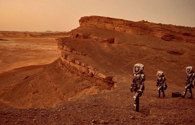 Marsdan geri qayıdan ilk insan - Yeni hekayə